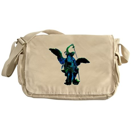 Powerful Angel - Blue Messenger Bag