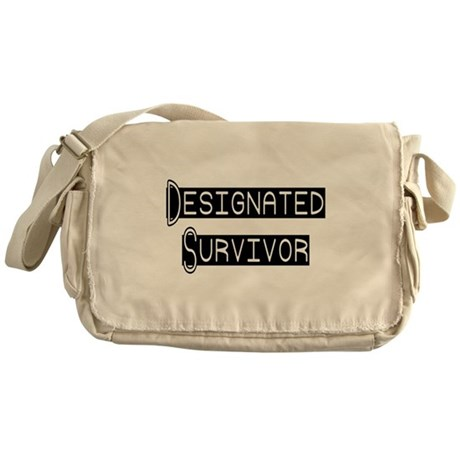 Designated Survivor Messenger Bag