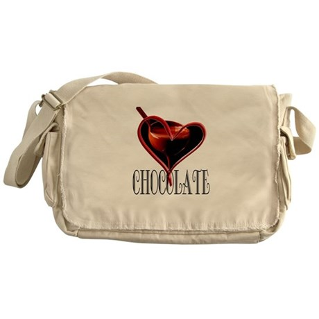 CHOCOLATE Messenger Bag