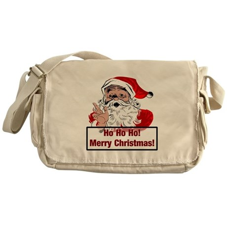 Santa Clause Messenger Bag