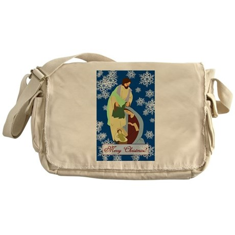 The Nativity Messenger Bag
