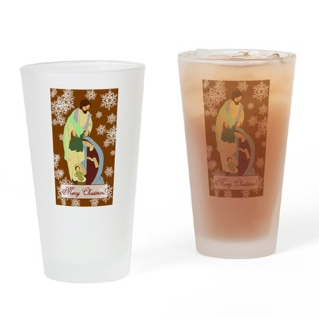 The Nativity Drinking Glass