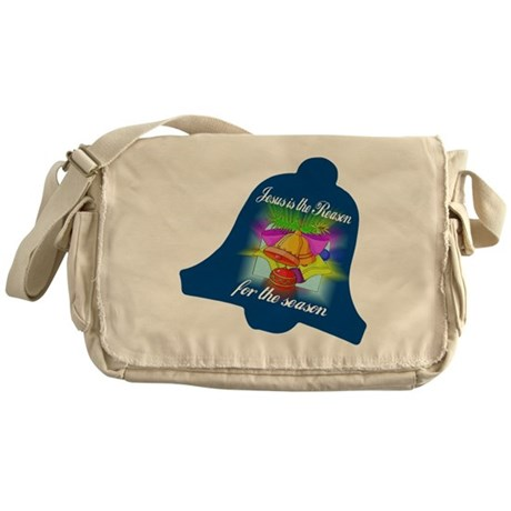 Jesus is the Reason Messenger Bag