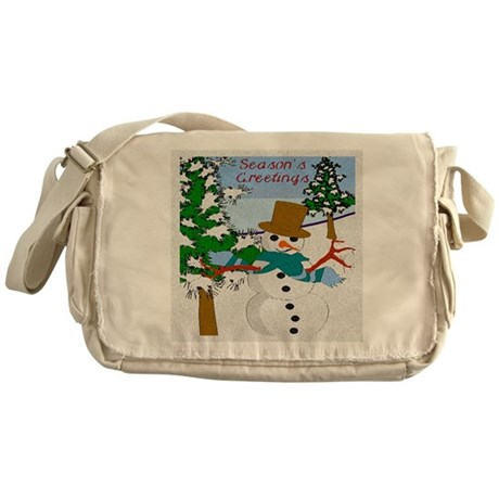 Season's Greetings Messenger Bag