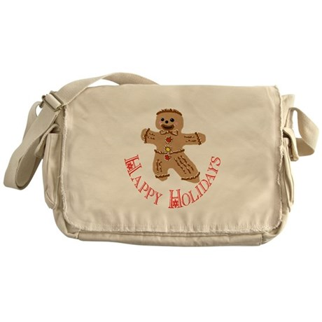 Gingerbread Man Messenger Bag