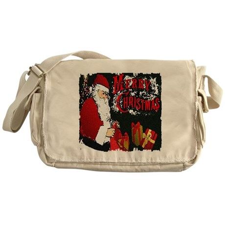 Merry Christmas Messenger Bag