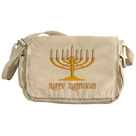 Happy Hanukkah Messenger Bag