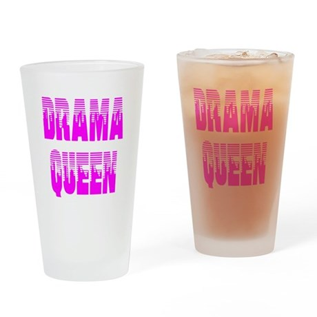 Drama Queen Drinking Glass