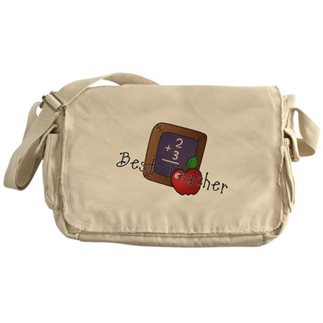 Best Teacher Messenger Bag