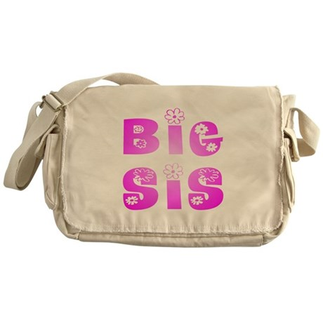 Big Sis Hippy Messenger Bag