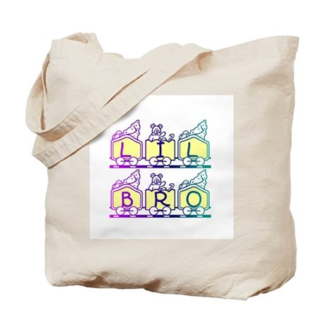 Lil Bro Train Tote Bag