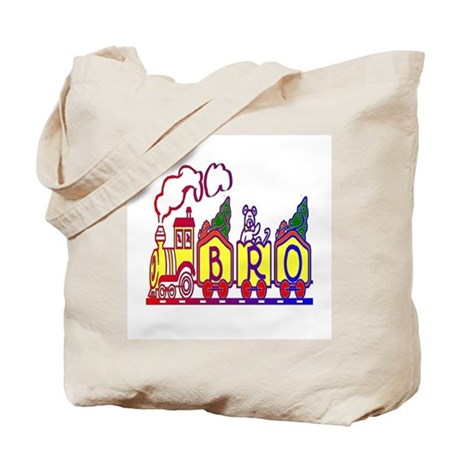 Bro Train Tote Bag