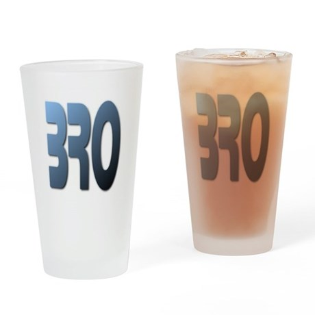BRO Drinking Glass