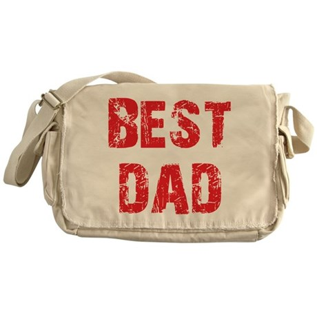 Father's Day Best Dad Messenger Bag