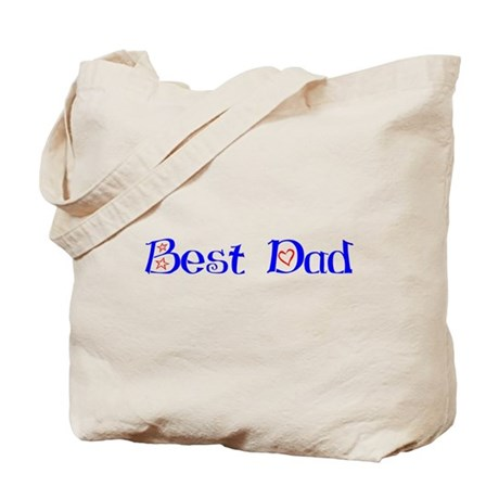 Best Dad Tote Bag