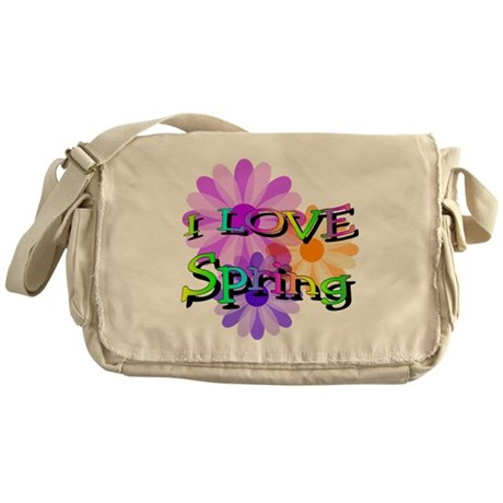 Love Spring Messenger Bag
