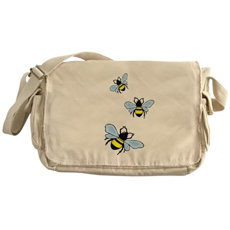 Bumble Bees Messenger Bag