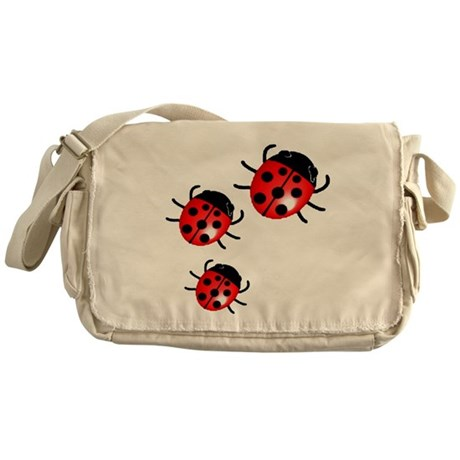 Lady Bugs Messenger Bag