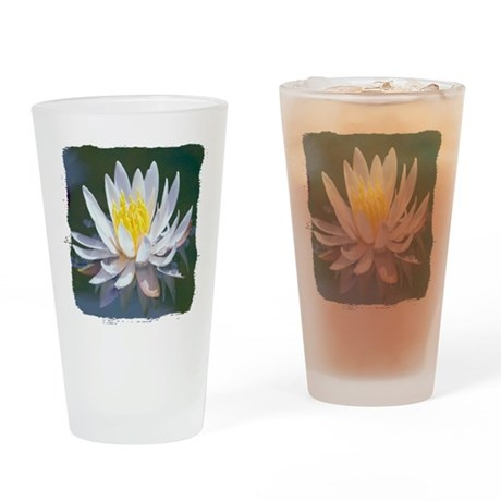 Lotus Blossom Drinking Glass