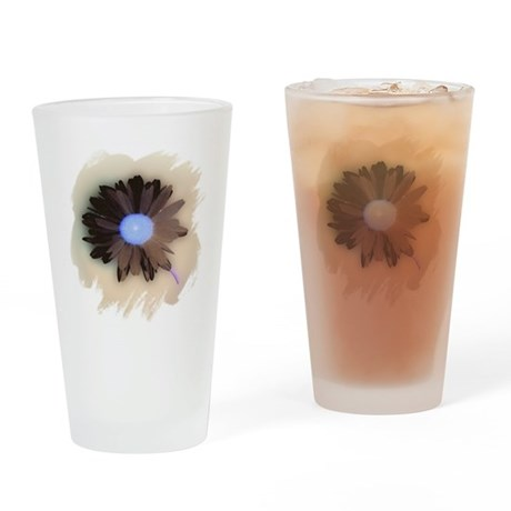 Country Daisy Drinking Glass