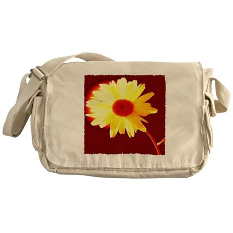 Hot Daisy Messenger Bag