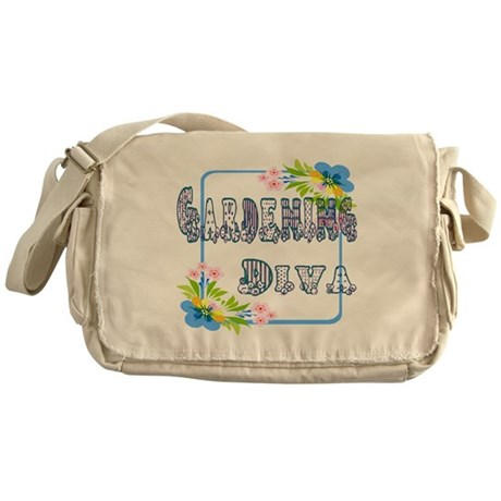 Gardening Diva Messenger Bag