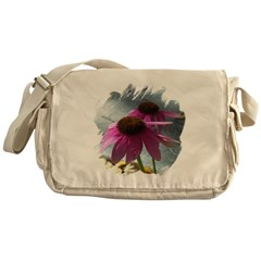 Windflower Messenger Bag