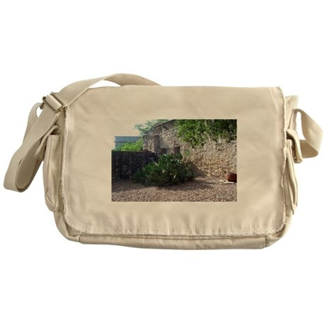 Prickly Pear Cactus Messenger Bag