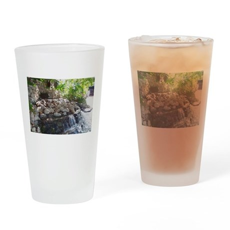 Garden Waterfall Drinking Glass