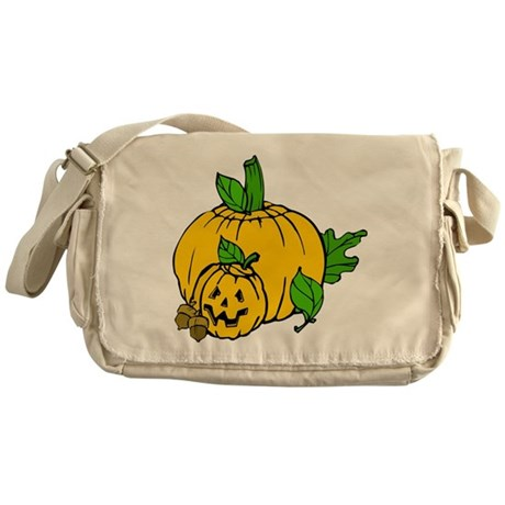 Jack 0 Lantern Messenger Bag