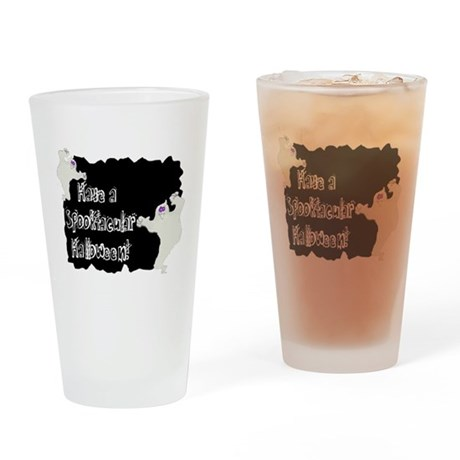 Spooktacular Halloween Drinking Glass