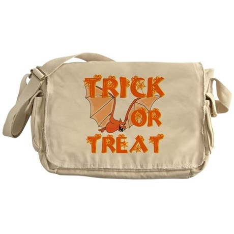 Trick or Treat Bat Messenger Bag