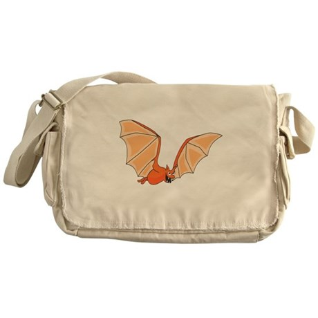 Flying Bat Messenger Bag
