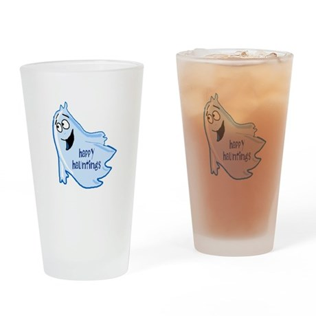 Happy Hauntings Drinking Glass