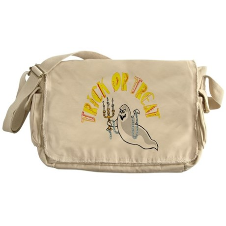 Prankster Ghost Messenger Bag