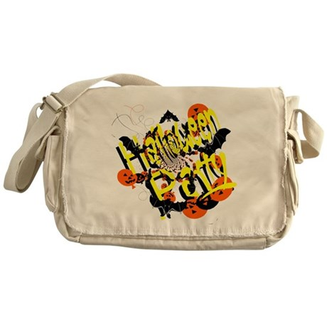 Halloween Party Messenger Bag