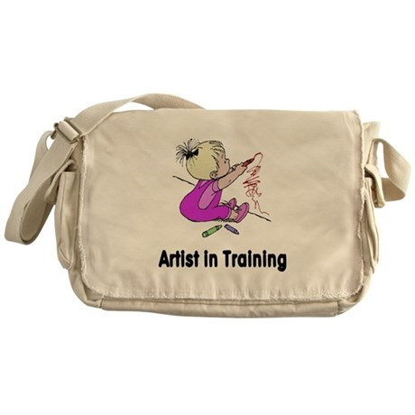 Artist in Training Messenger Bag