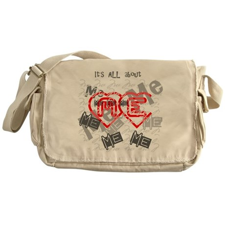It's ALL about ME Messenger Bag