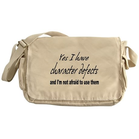 Character Defects Messenger Bag