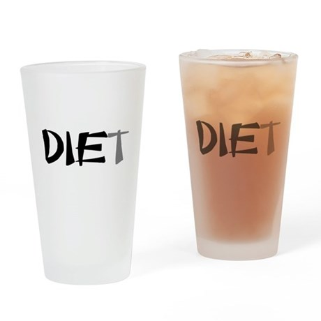 Diet Drinking Glass