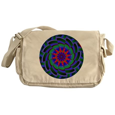 Kaleidoscope 0004 Messenger Bag