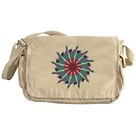 Kaleidoscope 0006 Messenger Bag