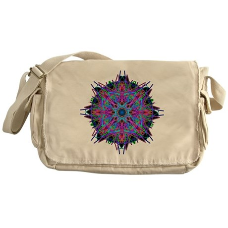 Kaleidoscope 005b2 Messenger Bag