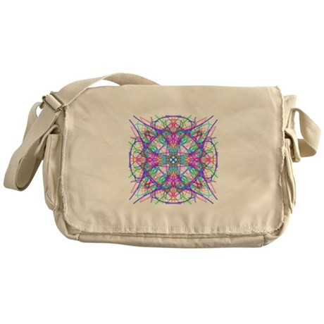 Kaleidoscope 005 Messenger Bag