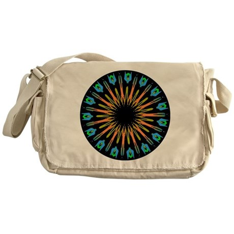 Kaleidoscope 003 Messenger Bag