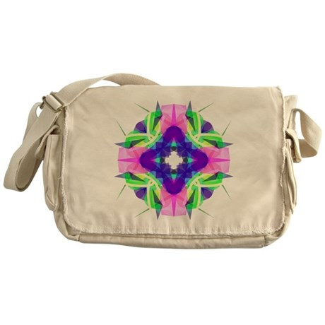 Kaleidoscope 001b Messenger Bag