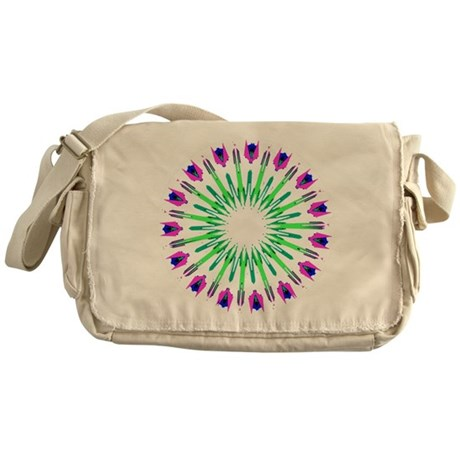 Kaleidoscope 003c Messenger Bag
