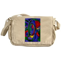 Abstract 001a Messenger Bag