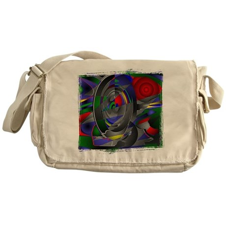Abstract 002a Messenger Bag