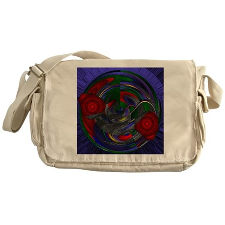 Abstract 005 Messenger Bag